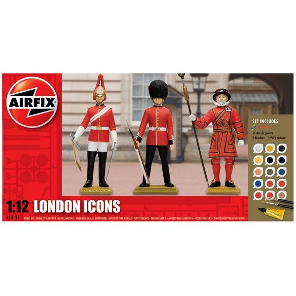 Figurines gardes britanniques : London Icons Gift Set - Airfix-50131