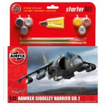 Maquette avion : Starter Set : Hawker Siddeley Harrier GR.1