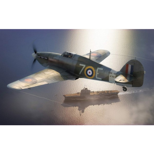 Maquette avion : Hawker Sea Hurricane MK.IB - Airfix-A05134