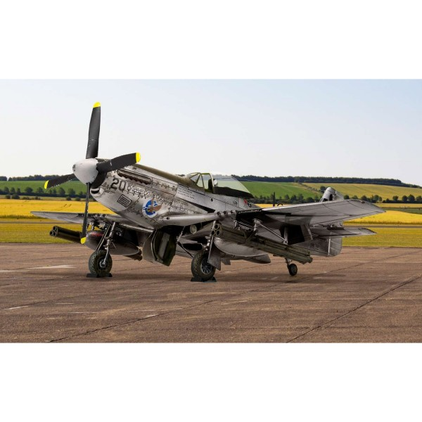 Maquette avion : North American P51-D Mustang - Airfix-A05131
