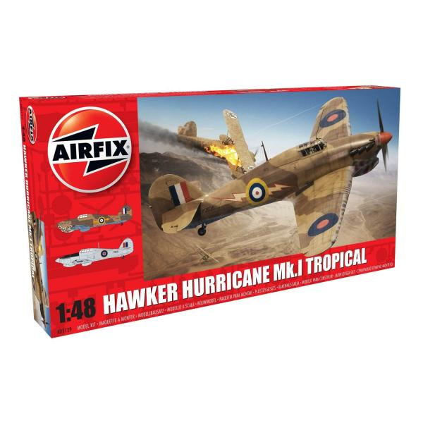 Maquette avion : Hawker Hurricane Mk.I Tropical - Airfix-A05129