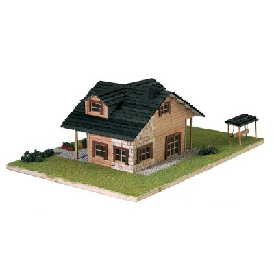 Maison en kit country collection chalet moderne artesania rue des maquettes - Maquetas de chalets ...