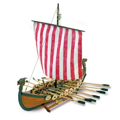 maquette bateau en bois drakkar de vikings artesania