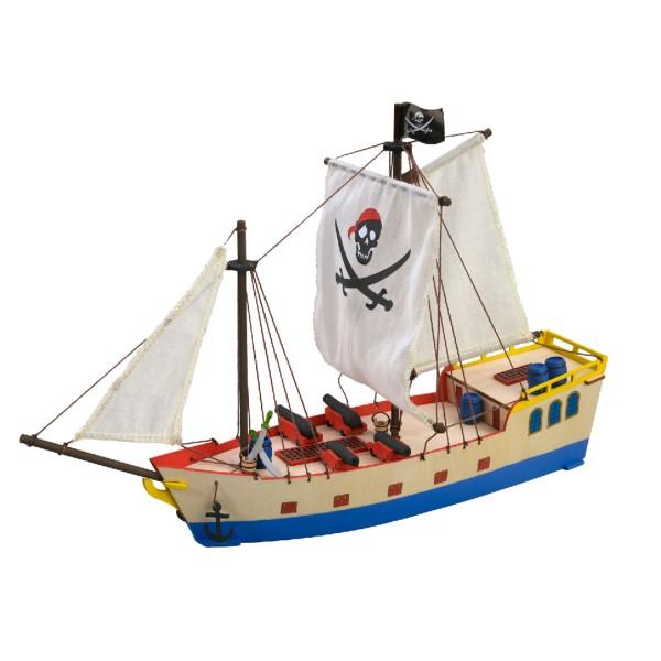 maquette en bois bateau de pirate jeux et jouets artesania avenue des jeux. Black Bedroom Furniture Sets. Home Design Ideas