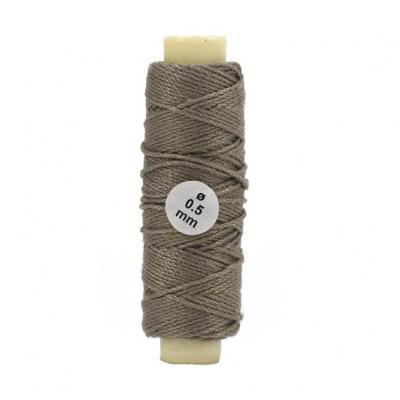 accessoire pour maquette de bateau en bois fil de coton beige 0 50 mm 20 m tres jeux et. Black Bedroom Furniture Sets. Home Design Ideas