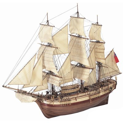maquette bateau en bois hms bounty 1783 artesania rue des maquettes. Black Bedroom Furniture Sets. Home Design Ideas
