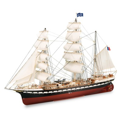 Image De Bateau maquette bateau en bois: le bélem - artesania - rue des maquettes