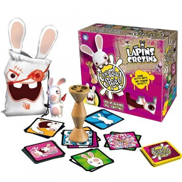 Jungle Speed : Lapins Crétins - Asmodee-JSLC01