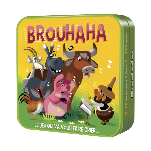 Brouhaha - Nouvelle Edition - Asmodee-CGBROU01