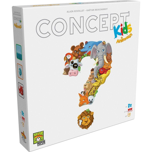 Concept Kids Animaux - Asmodee-CONFR02