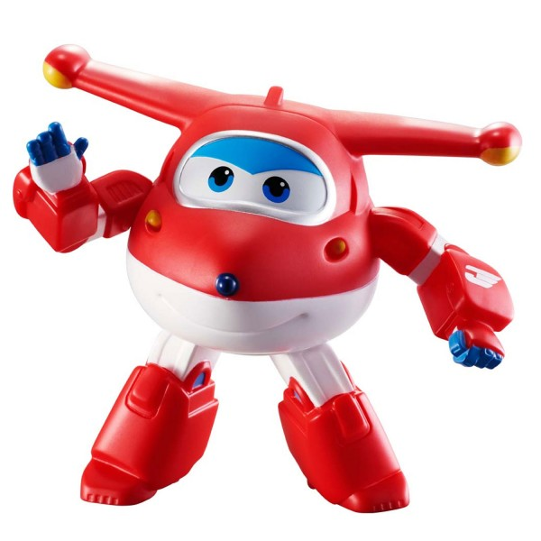 Mini véhicules transformables Super Wings : Jett articulé - Auldey-YW71000R-A-2