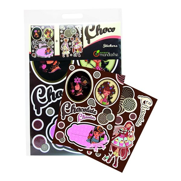 Stickers muraux Collection Choco - Mandarine-62009MD