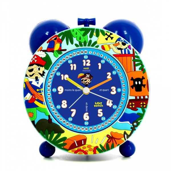Réveil pédagogique Baby Watch : Pirates - BabyWatch-60626