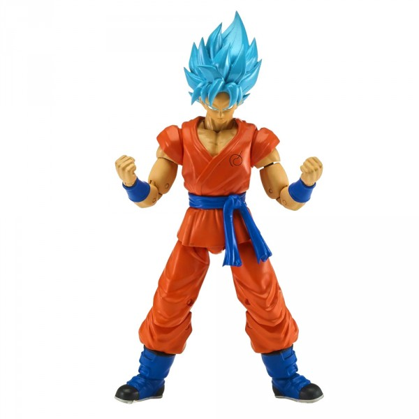 Figurine Dragon Ball Super 17 cm : Super Saiyan Blue Goku - Bandai-35855-35863