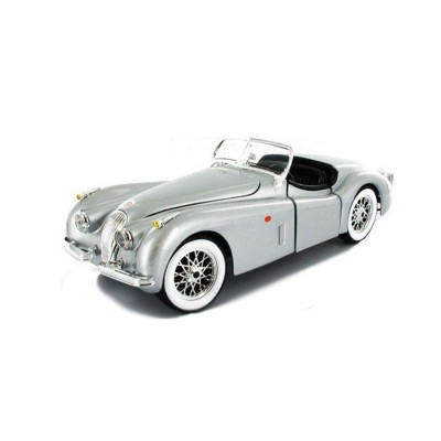 mod le r duit de voiture de collection jaguar xk120 road 1948 echelle 1 24 jeux et jouets. Black Bedroom Furniture Sets. Home Design Ideas