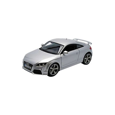 mod le r duit de voiture de sport audi tt rs grise echelle 1 18 bburago rue des maquettes. Black Bedroom Furniture Sets. Home Design Ideas