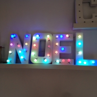 décoration noël lumineuse