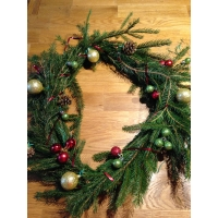 Décorez votre porte aux couleurs de Noël