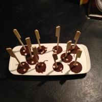 des bâtons à chocolat chaud