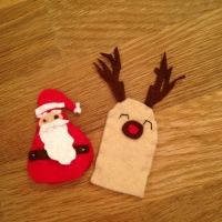 Des personnages de Noël en feutrine - Image n°12
