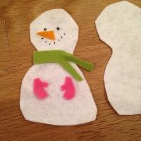 Des personnages de Noël en feutrine - Image n°16