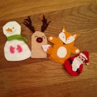 Des personnages de Noël en feutrine - Image n°17