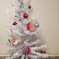 boule de papier décoration noël