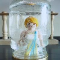 Une boule à neige Playmobil