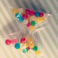 papillon en bonbons loisirs créatif fait main