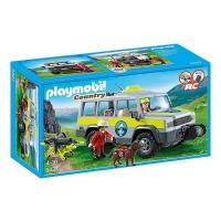 voiture forêt playmobil