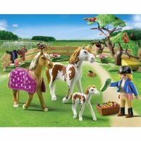 famille chevaux playmobil