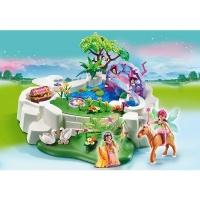 étang playmobil princesse