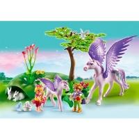 cheval magique playmobil princesse