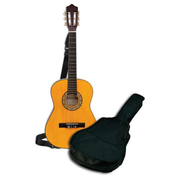 guitare classique en bois 92 cm jeux et jouets bontempi avenue des jeux. Black Bedroom Furniture Sets. Home Design Ideas