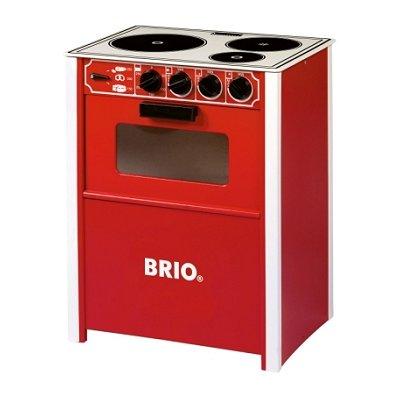 cuisini re en bois brio rouge brio le lutin rouge. Black Bedroom Furniture Sets. Home Design Ideas