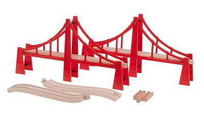 Double pont suspendu - Brio-33683