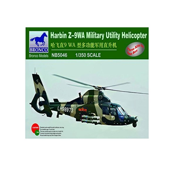 Maquette Hélicoptère : Harbin Z-9WA - Military Utility Helicopter - Bronco-BRM5046