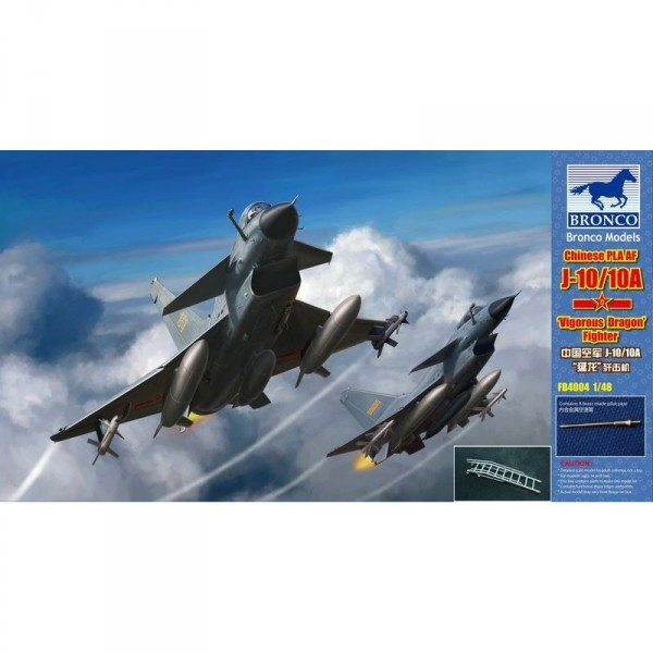 Maquette avion : Chinese PLAAF J-10/10A - Bronco-BRM4004