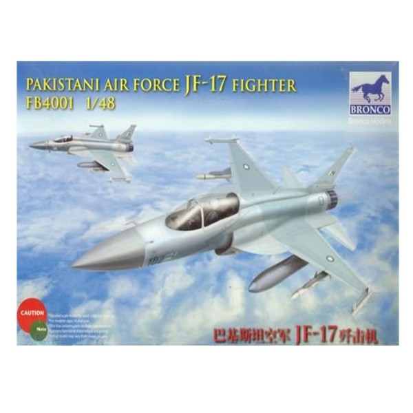 Maquette avion : JF-17 Fighter FB4001 : Pakistani Air Force - Bronco-BRM4001