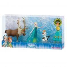 coffret de figurines la reine des neiges frozen une fte givre - Gants La Reine Des Neiges
