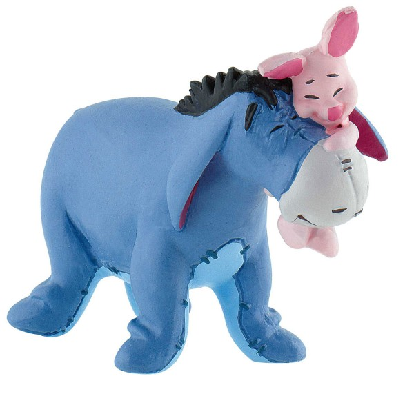 Figurine Winnie l'ourson : Bourriquet avec Porcinet - Bullyland-B12324