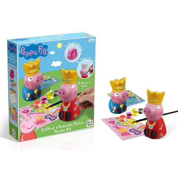 coffret d 39 activit pl tre peppa pig jeux et jouets canal toys avenue des jeux. Black Bedroom Furniture Sets. Home Design Ideas