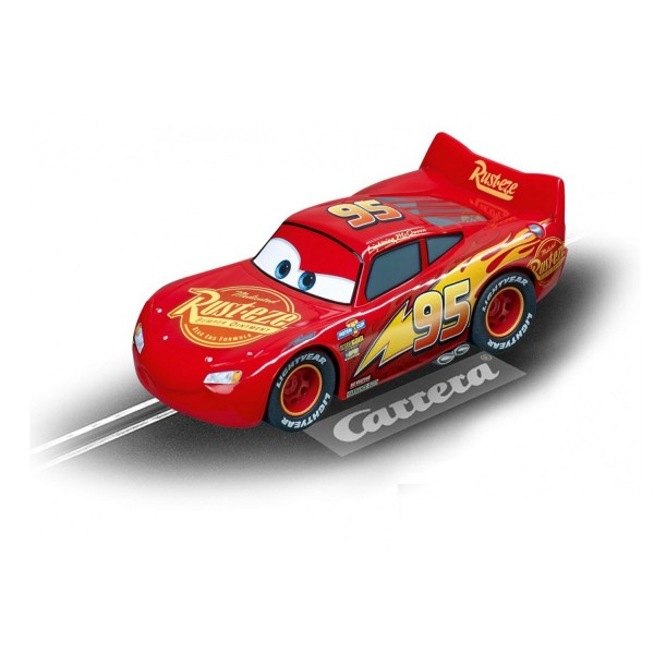 Voiture pour circuit Carrera Go Cars 3 : Lightning McQueen - Carrera-64082