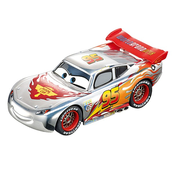 voiture pour circuit carrera go disney pixar cars silver lightning mcqueen jeux et jouets. Black Bedroom Furniture Sets. Home Design Ideas