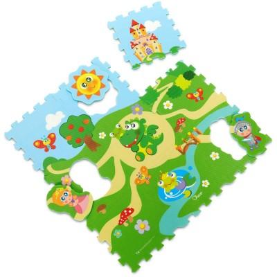 tapis puzzle ch teau puzzle chicco rue des puzzles. Black Bedroom Furniture Sets. Home Design Ideas