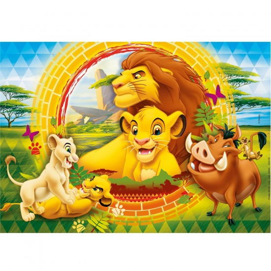 Puzzle 60 pi ces le roi lion puzzle clementoni rue - Voir le roi lion ...