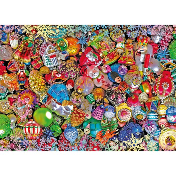 Puzzle 1000 pièces : Impossible Puzzle : Christmas Collection - Clementoni-39585