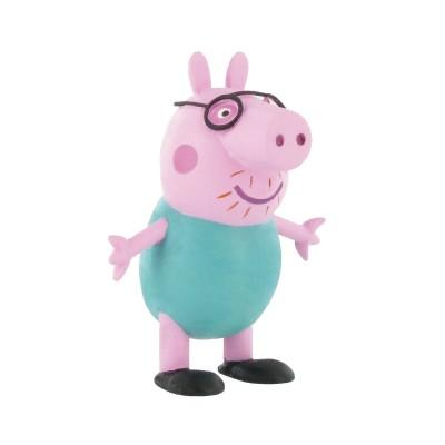 Figurine peppa pig papa pig jeux et jouets comansi avenue des jeux - Fusee peppa pig ...