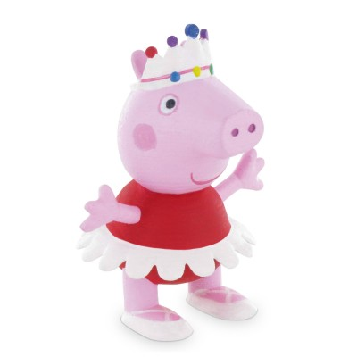 Figurine peppa pig peppa danseuse jeux et jouets comansi avenue des jeux - Fusee peppa pig ...