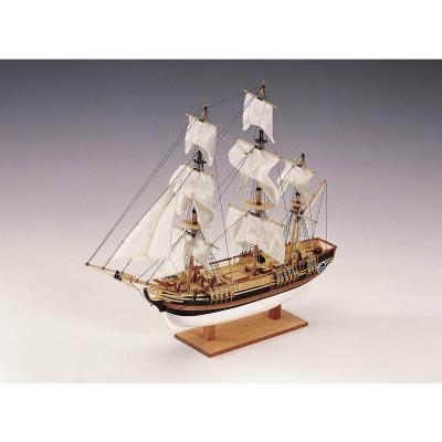 maquettes en bois navire hms bounty chez rue des maquettes. Black Bedroom Furniture Sets. Home Design Ideas